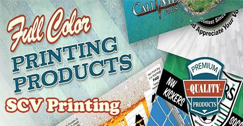 SCV Printing – Thomas Graphics – Since 1998