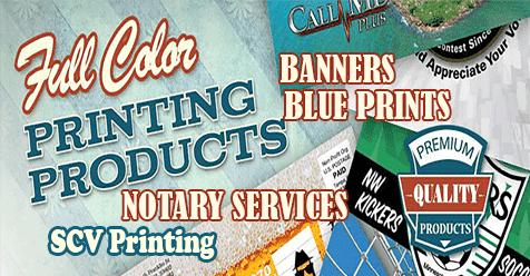 Printing SCV | All Your Printing Needs in Santa Clarita