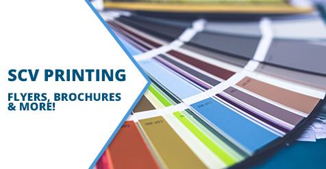 Flyers and More! – SCV Printing – Thomas Graphics