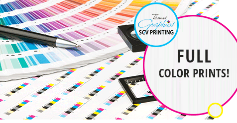 Professional Printing at Great Prices! – Thomas Graphics, SCV Printing