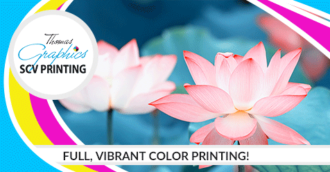 Full Color Prints Make a Difference! | SCV Printing – Thomas Graphics