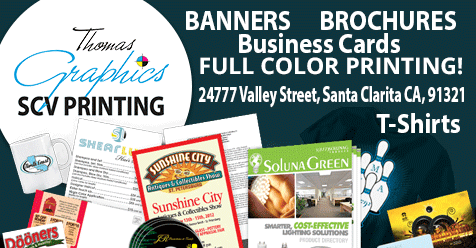 15% OFF any Banners & Business Cards | SCV Printing – Thomas Graphics