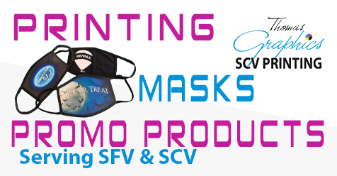 High Quality Custom Masks | Thomas Graphics