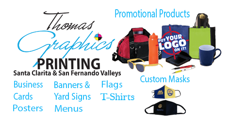 Thomas Graphics Custom In Store Orders or Products Online