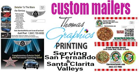 Thomas Graphics Printing & Promotionals SCV & SFV